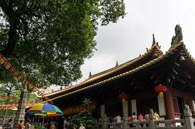 foto of piety  - guangxiao temple on the guangxiao road - JPG