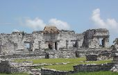 Travel To Tulum Ruins poster
