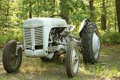 picture of workhorses  - old farm tractor - JPG