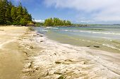 image of pacific rim  - Long Beach in Pacific Rim National park Vancouver Island Canada - JPG