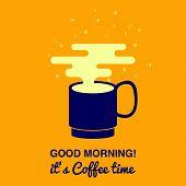 Coffee Vector Illustration poster