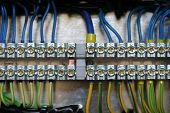 picture of busbar  - Photo of wiring  - JPG