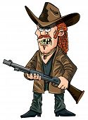 picture of redneck  - Cartoon red - JPG