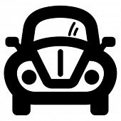 foto of beetle car  - Car icon - JPG