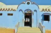 foto of nubian  - Building in Nubian village - JPG