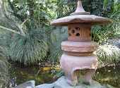 image of loamy  - Exotic oriental garden in greenhouse  - JPG