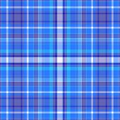 Blue Plaid Background