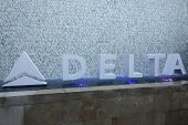 BEVERLY HILLS - AUG 15: Atmosphere, Delta signage at a summer celebration hosted by Delta Air Lines