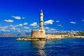 beautiful Greece series - Chania town (Crete), light house