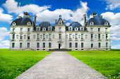 Beautiful Cheverny castle , Loire valley, France