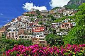 pictorial sunny Italy series - beautiful Positano