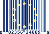 Europe bar code poster