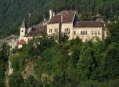 picture of glans  - Beautiful medieval Castle Eberstein - JPG