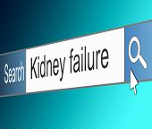 Kidney Failure Concept.