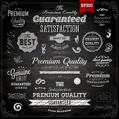 stock photo of high-quality  - Retro elements collection for calligraphic designs  - JPG