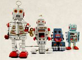 retro robot group