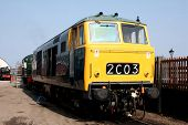 Diesel Locomotive in the West Country