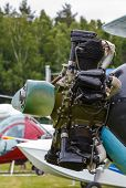 stock photo of ww2  - engine biplane Polikarpov Po - JPG
