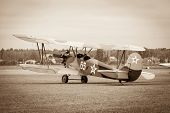 picture of ww2  - biplane Polikarpov Po - JPG