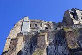 image of mont saint michel  - mont  saint michel monastery in brittany - JPG