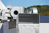 pic of ventilator  - Industrial steel air conditioning and ventilation systems - JPG