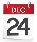 foto of 24th  - December 24th Calendar Vector - JPG