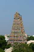 stock photo of meenakshi  - Meenakshi Sundareswarar Temple in Madurai - JPG