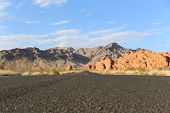 image of valley fire  - Valley of Fire State Park is the oldest and largest state park Nevada - JPG