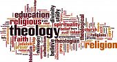 foto of fundamentalist  - Theology word cloud concept - JPG