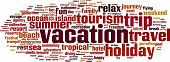 image of sabbatical  - Vacation word cloud concept - JPG