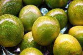 stock photo of pomelo  - Thai yellow - JPG