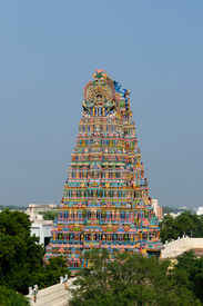 foto of meenakshi  - Meenakshi Sundareswarar Temple in Madurai - JPG