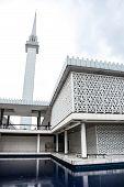stock photo of malaysia  - National Mosque of Malaysia Kuala Lumpur Malaysia - JPG