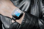 stock photo of watch  - Smart watch - JPG