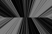 image of kinetic  - abstract background with black and white vertical lines - JPG