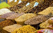stock photo of dirhams  - Assortment of nuts - JPG