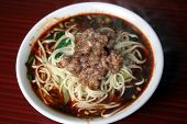 sichuanese spicy noodles poster