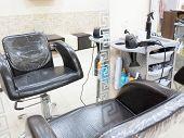 stock photo of beauty salon interior  - Iinterior of a beauty salon - JPG
