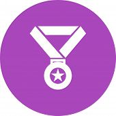 stock photo of prize  - Medal - JPG