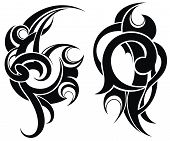 picture of maori  - Abstract symbols  - JPG