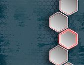 pic of honeycomb  - background consists of a honeycomb - JPG