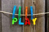 Постер, плакат: Play