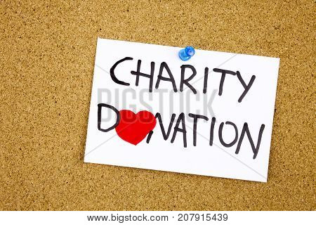 charity donation phrase
