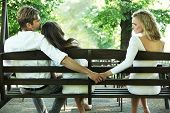 pic of breakup  - Conceptual photo of a marital infidelity - JPG