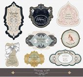 picture of art nouveau  - label tags for all kind of needs  - JPG