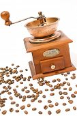 Coffee grain and coffee mill
