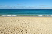 picture of st ives  - Porthminster beach and St - JPG