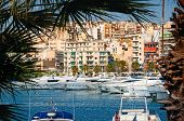 pic of piraeus  - Piraeus Marina at summer in Athens Greece  - JPG