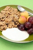 Healthy Breakfast - Musli And Fruits poster