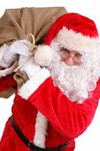 Santa With Big Sack